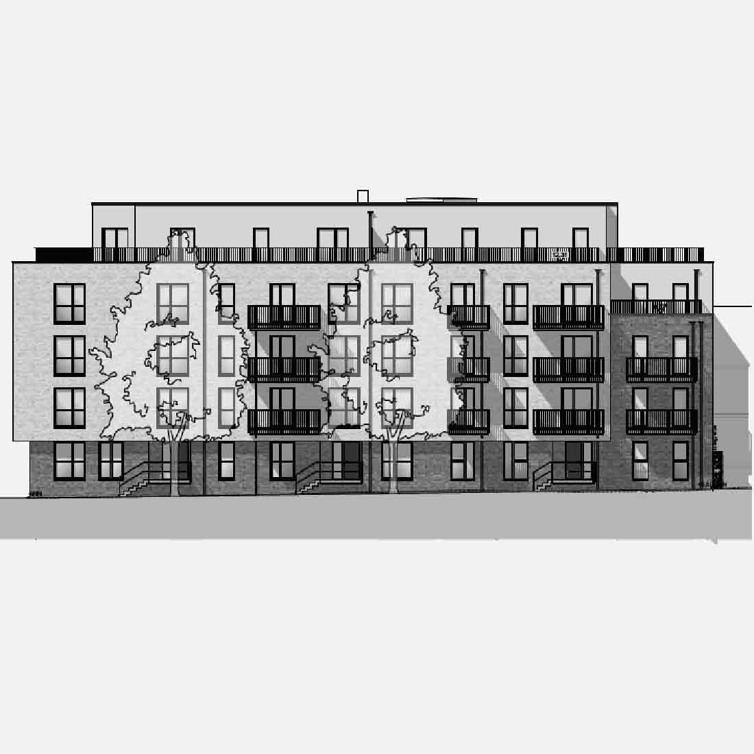Hamburger Straße, Ahrensburg • Neubau eines Wohngebäudes