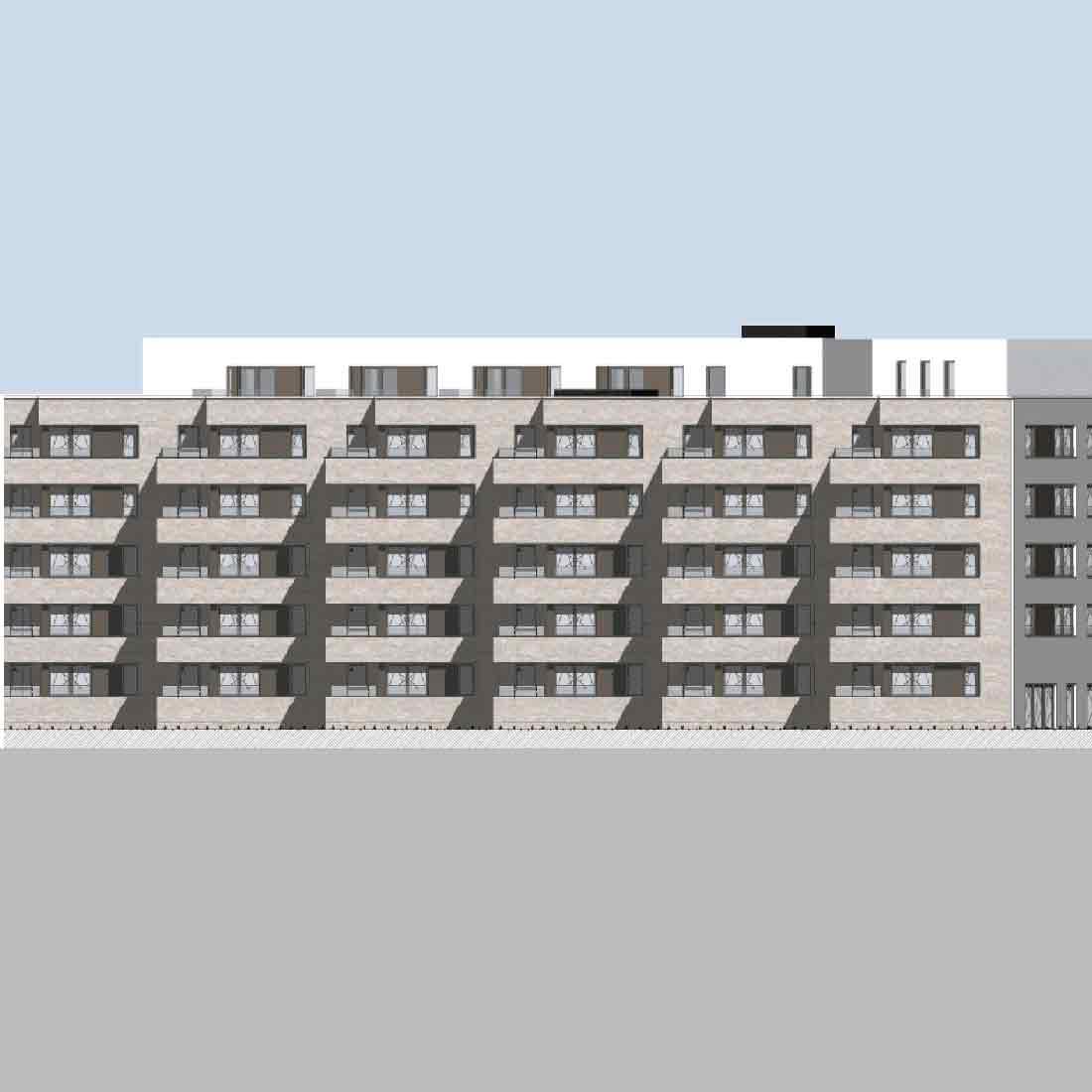 Am Weißenberge 5.BA • Neubau Seniorenwohnanlage