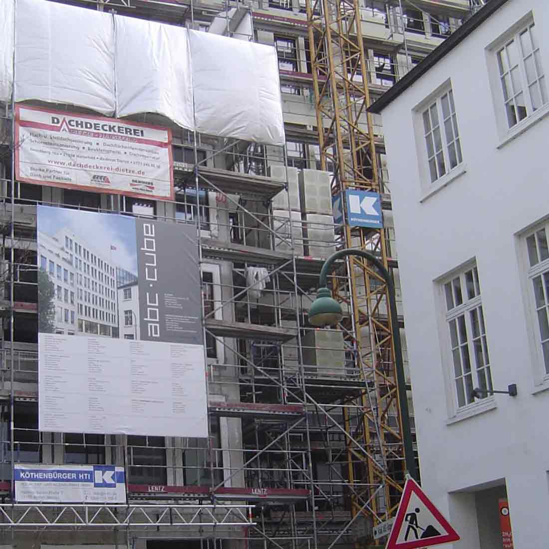 ABC Straße • Neubau eines Bürogebäudes